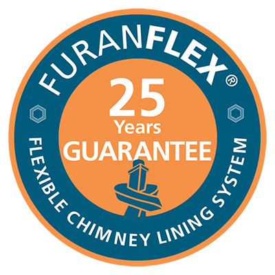 Gas heating Guarantee | FuranFlex composite liner