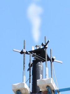 Beepites steam outlet